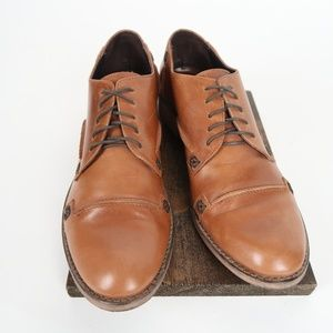 CHARLES DAVID Vintage Leather Shoes  Made in Italy